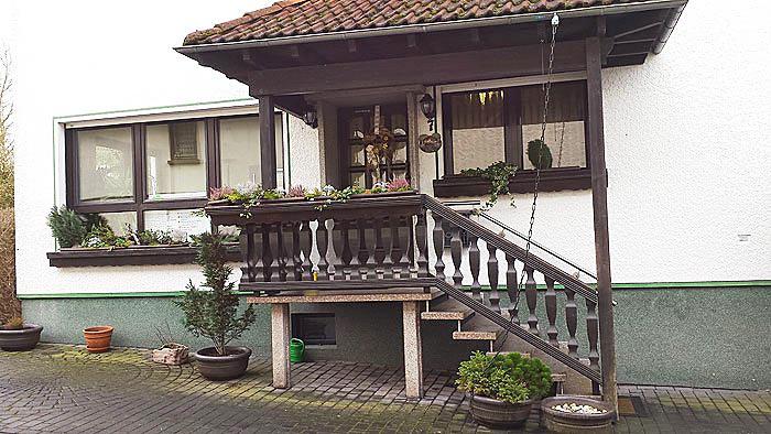Haus Gerda von der Seite